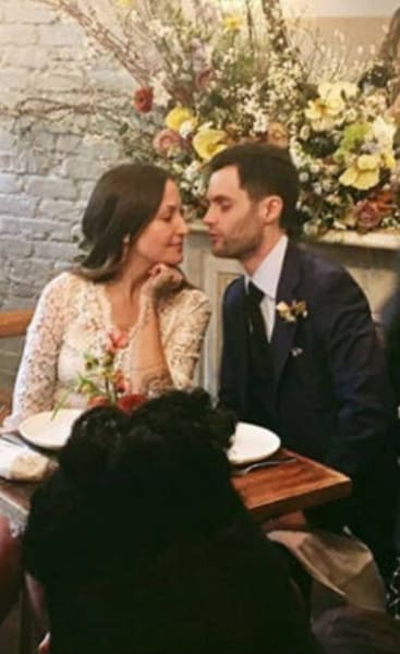Penn Badgely and Domino Kirke Wedding
