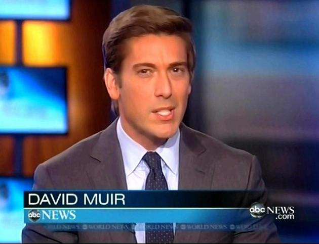 ABC News Picture: David Muir To Succeed Diane Sawyer As ABC World News