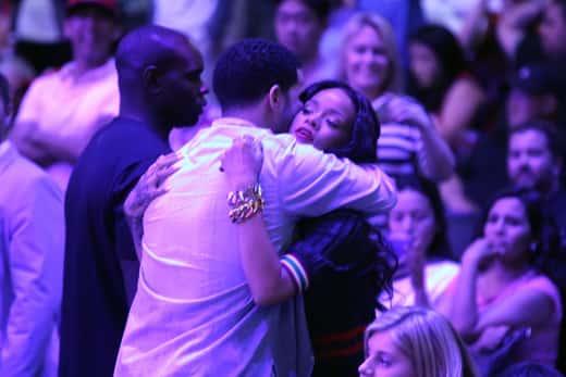 Drake and Rihanna Pic