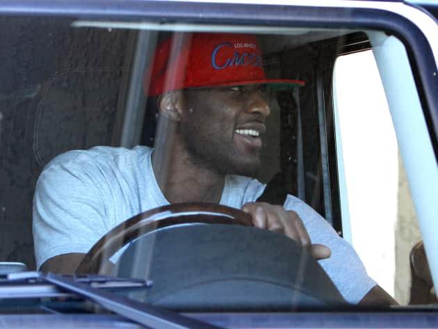 Lamar Odom Driving