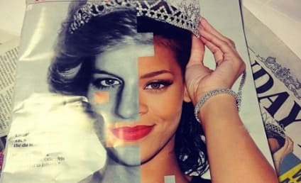 Rihanna-Princess Diana Photo Covers UK Sunday Times