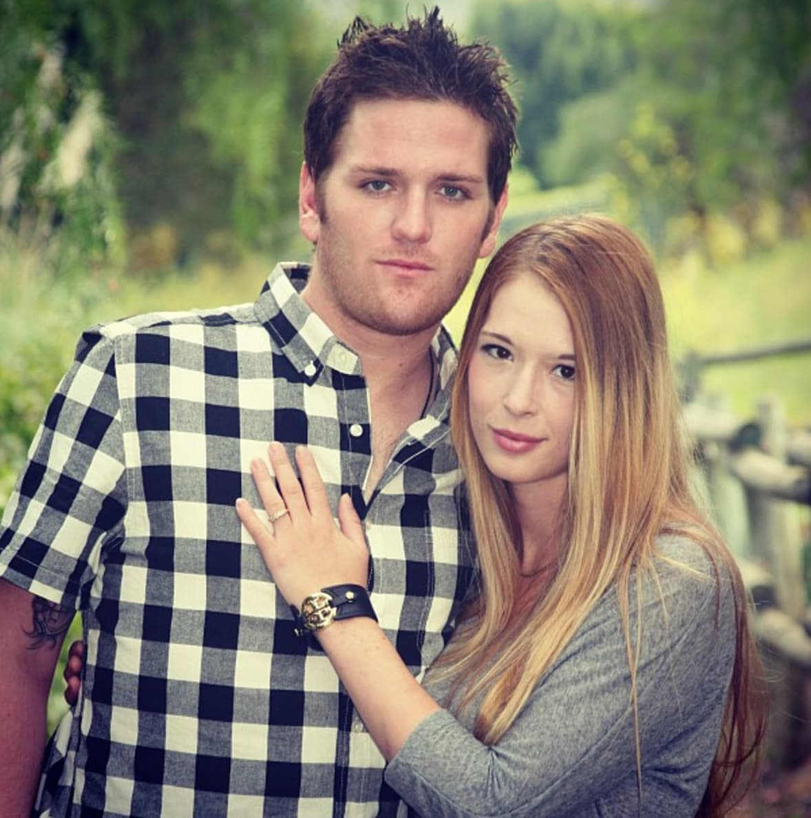 Former married husband and wife: Josh Waring and Hannah Waring
