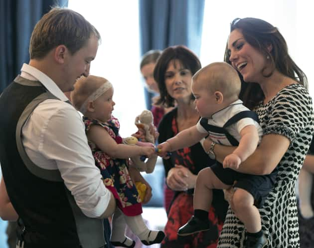 Kate and George on Playdate