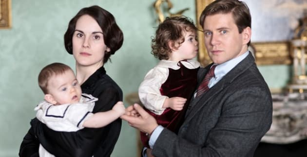 Downton Abbey Season 4 Promo Pic