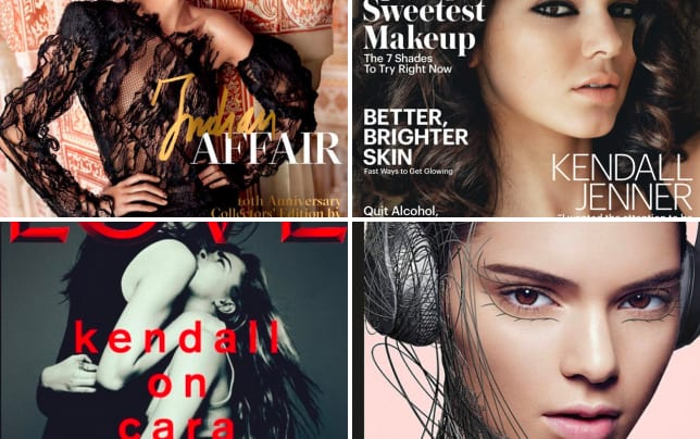 Kendall jenner covers vogue india