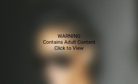 Rihanna See-Through Top