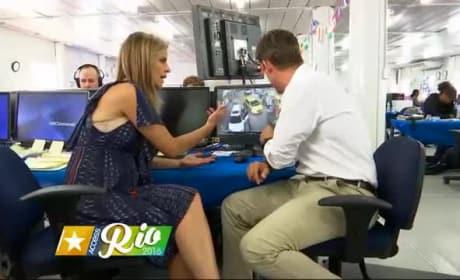 Ryan Lochte: Rio Surveillance Video