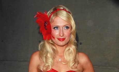 Paris Hilton Birthday Party Pic
