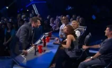 Ryan and Simon Butt Heads on American Idol