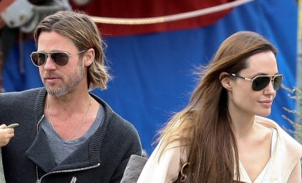"Report: Brad Pitt ""Blowing Off,"" Hardly Speaking With Angelina Jolie"