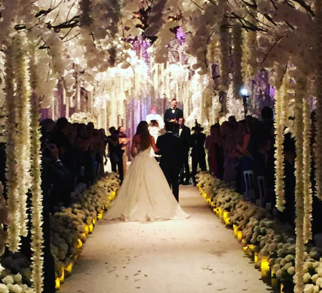 Sofia Vergara and Joe Manganiello Wedding Pic