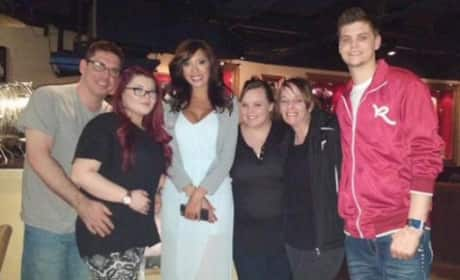 Matt, Amber, Farrah, Cate and Tyler