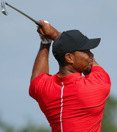 Tiger Woods Swings