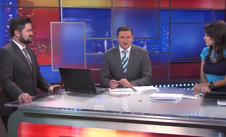 "News Anchors Can't Stop Laughing About ""Big Beavers"""