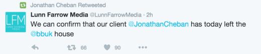 Jonathan Cheban Confirms Celebrity Big Brother Departure