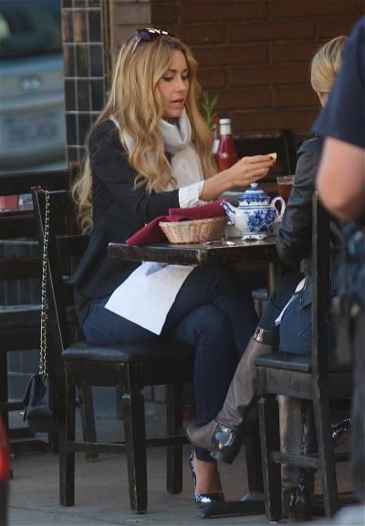 Lauren Conrad Enjoys Drink
