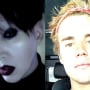 Marilyn Manson, Justin Bieber Split