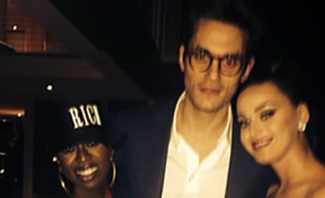 John Mayer, Katy Perry, Missy Elliott Photo