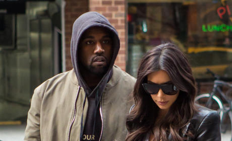 Kim Kardashian and Kanye West: Sad
