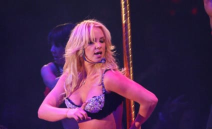 Britney Spears, Larry Rudolph Rock the Cradle