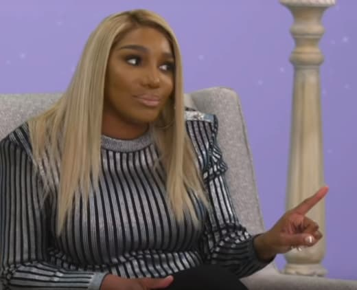 NeNe Leakes Speaks at the Aftershow