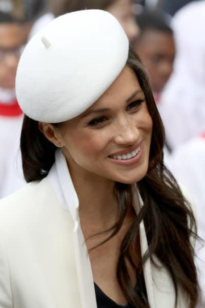 Meghan Markle in Cute Hat