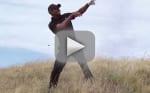 Tiger Woods Takes Horrible Golf Shot