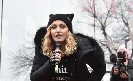 Madonna Slams Trump