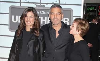 George Clooney Premieres Up in the Air, Shows Off Elisabetta Canalis