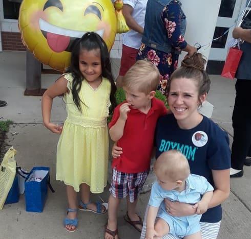 Jill Duggar and Her Goddaughter