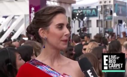 This Was Awkward: Alison Brie is Asked About James Franco...