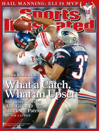 David Tyree SI Cover