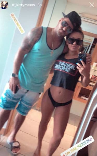 Ronnie and Jen in Puerto Rico