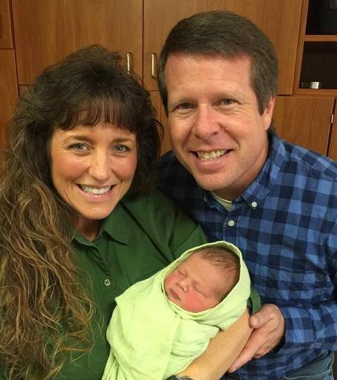 Jim Bob Duggar, Michelle Duggar and Baby Seewald