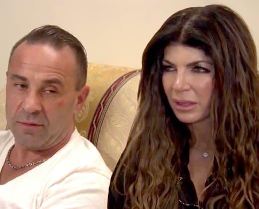 Teresa and Joe Giudice Throwback