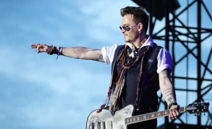 Johnny Depp Needs To Stop Getting Tattoos In The Name of Love