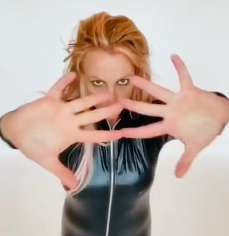 Britney Spears dancing