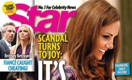 Kate Middleton: Pregnant (On Photoshopped Tabloid Cover)!