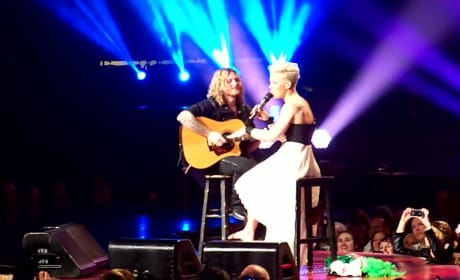 Pink Stops Concert For Crying Child