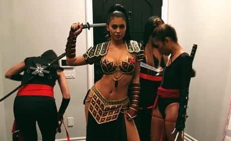 Kylie Jenner's Sexy Halloween Costume