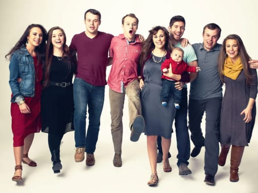 all these duggar people