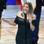 Fergie at the All-Star Game