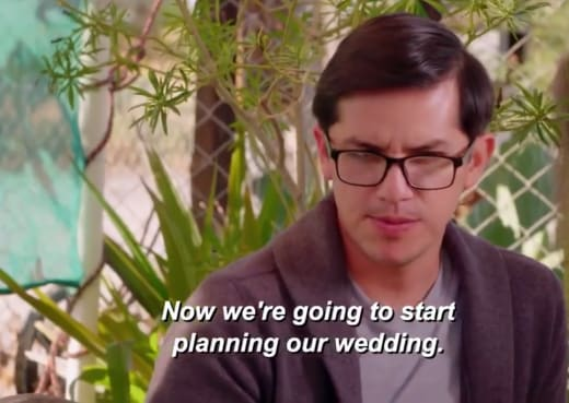 Armando Rubio - now we're going to start planning our wedding