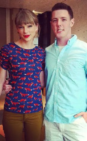 Kevin McGuire and Taylor Swift