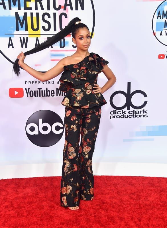 Liza koshy at 2018 amas