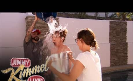 Kathy Griffin Accepts Ice Bucket Challenge