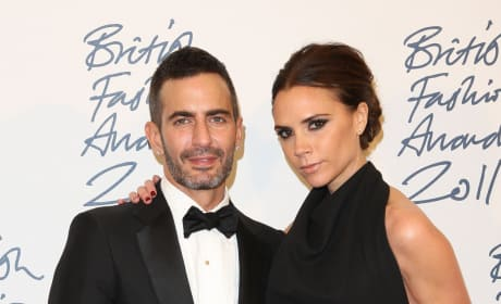 Victoria Beckham and Marc Jacobs