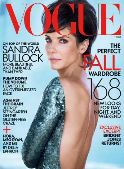 Sandra Bullock Vogue Cover