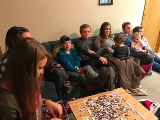Duggar family Thanksgiving