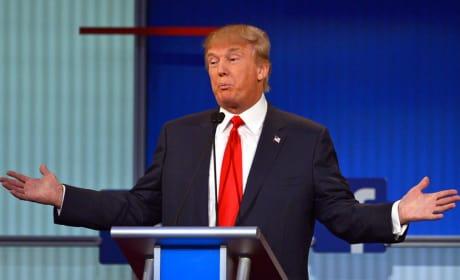 Donald Trump at the Debate